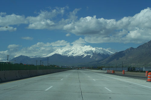 I15, South of Salt Lake City