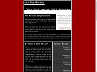 CSS Zen Gardens