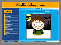 Neal Grosskopf.com Version 1
