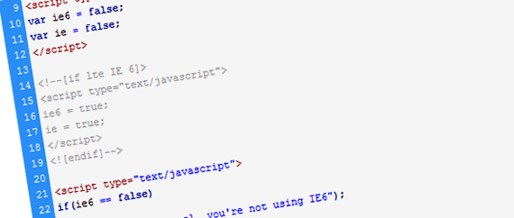 A New Method To Target Internet Explorer In Javascript